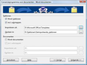 conversieprogramma voor documenten vervolg